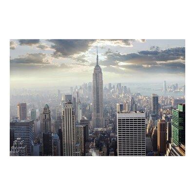 PPS. Imaging GmbH Tapete Sonnenaufgang in New York 290 cm H x 432 cm B