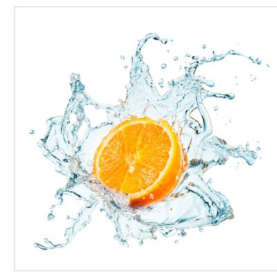 PPS. Imaging GmbH Tapete Frische Orange 240 cm H x 240 cm B