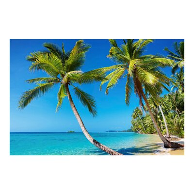 PPS. Imaging GmbH Tapete Beach of Thailand 225 cm H x 336 cm B