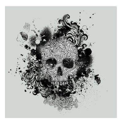PPS. Imaging GmbH Tapete Skull 336 cm H x 336 cm B