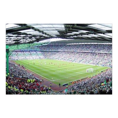 PPS. Imaging GmbH Tapete Kindertapete Fußballstadion 290 cm H x 432 cm B
