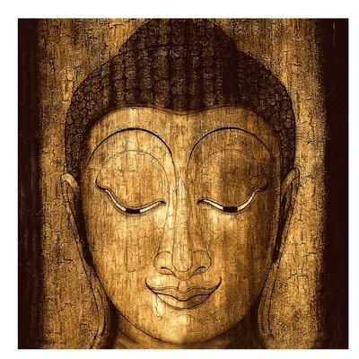 PPS. Imaging GmbH Tapete Smiling Buddha 240 cm H x 240 cm B