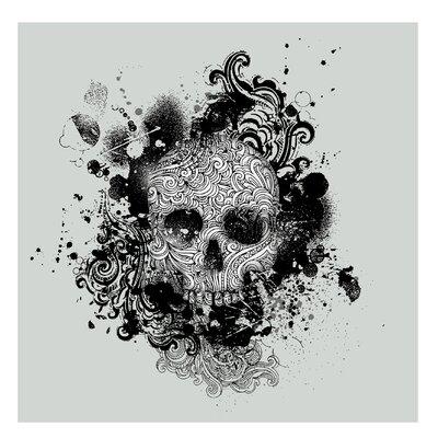 PPS. Imaging GmbH Tapete Skull 288 cm H x 288 cm B