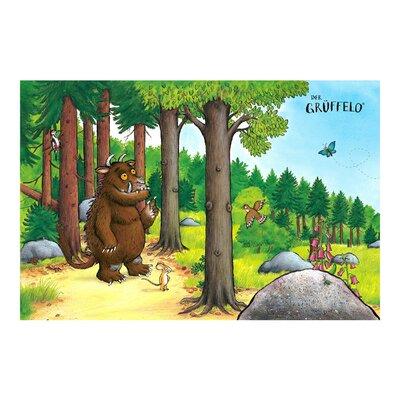 PPS. Imaging GmbH Tapete Kindertapete Grüffelo Waldspaziergang 320 cm H x 480 cm B