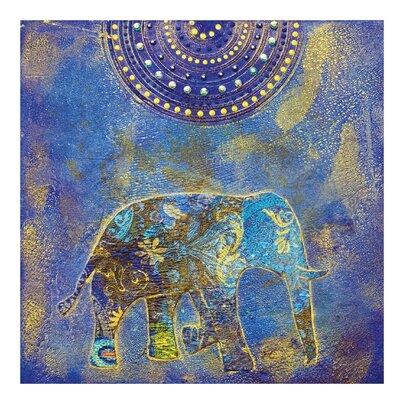 PPS. Imaging GmbH Tapete Elephant in Marrakech 192 cm H x 192 cm B