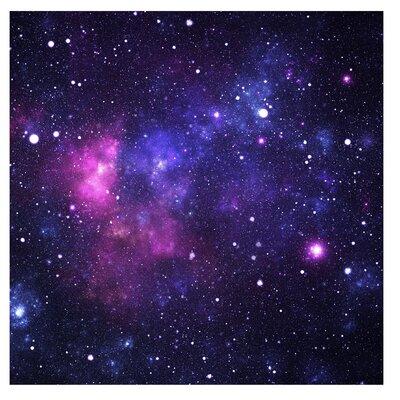 PPS. Imaging GmbH Tapete Galaxie 192 cm H x 192 cm B