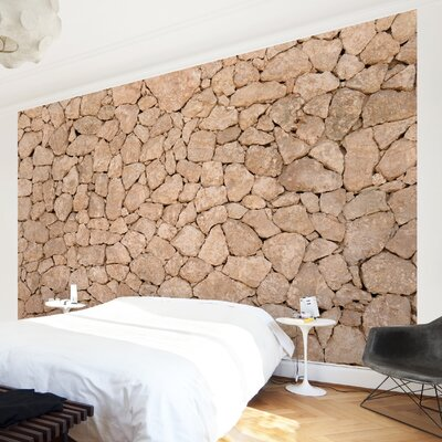 PPS. Imaging GmbH Tapete Stonewall of Apulia 190 cm H x 288 cm B