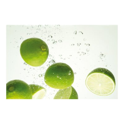 PPS. Imaging GmbH Tapete Swimming Limes 255 cm H x 384 cm B