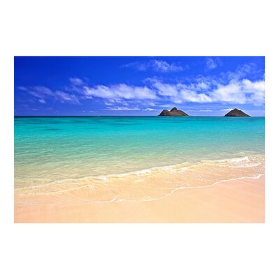 PPS. Imaging GmbH Tapete Paradise Beach 190 cm H x 288 cm B