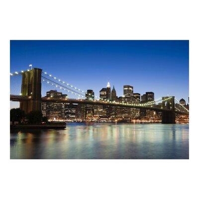 PPS. Imaging GmbH Tapete Brooklyn Brücke in New York 255 cm H x 384 cm B