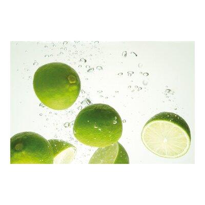 PPS. Imaging GmbH Tapete Swimming Limes 190 cm H x 288 cm B