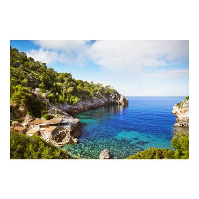 PPS. Imaging GmbH Tapete Cala de Deia in Mallorca 290 cm H x 432cm B