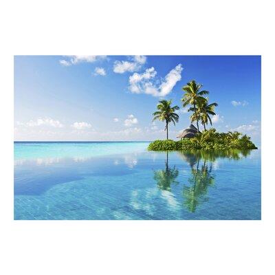 PPS. Imaging GmbH Tapete Tropisches Paradies 320 cm H x 480 cm B
