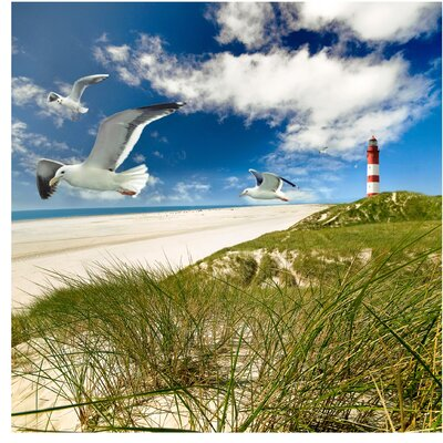 PPS. Imaging GmbH Tapete Dune Breeze 192 cm H x 192 cm B