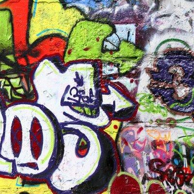 PPS. Imaging GmbH Tapete Graffiti 225 cm H x 336 cm B