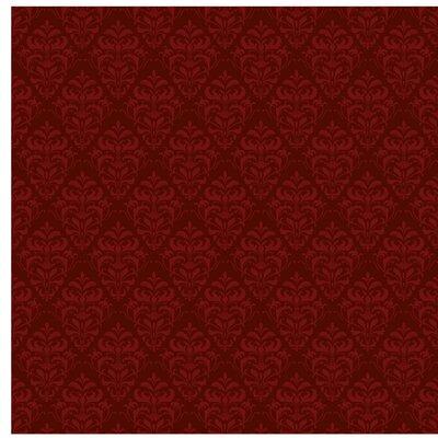 PPS. Imaging GmbH Tapete Roter Französischer Barock 336 cm H x 336 cm B