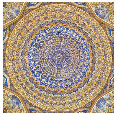 PPS. Imaging GmbH Tapete Dome of the Mosque 192 cm H x 192 cm B