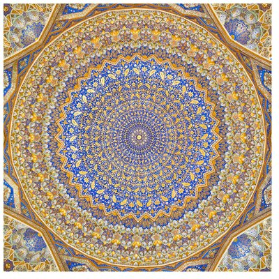 PPS. Imaging GmbH Tapete Dome of the Mosque 288 cm H x 288 cm B