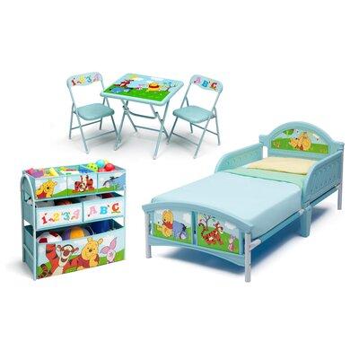Delta Children 5-tlg. Kinderzimmer-Set Pu Der Bär