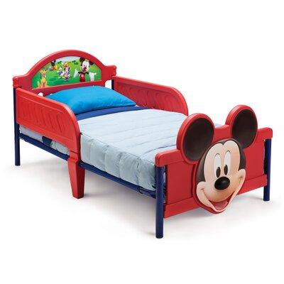Delta Children Bett Micky Maus mit 2 Geländern