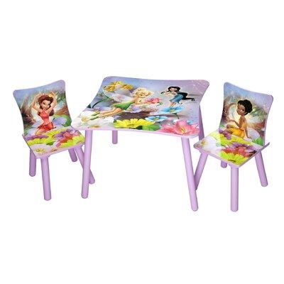 Delta Children 3-tlg. Kinder-Tisch Set Feen