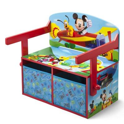 Delta Children Umwandelbarer Kinder Schreibtisch Micky Maus