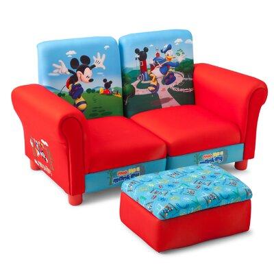 Delta Children 3-tlg. Kinder Sofa-Set Micky Maus