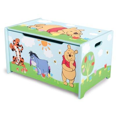 Delta Children Spielzeugtruhe Pu Der Bär