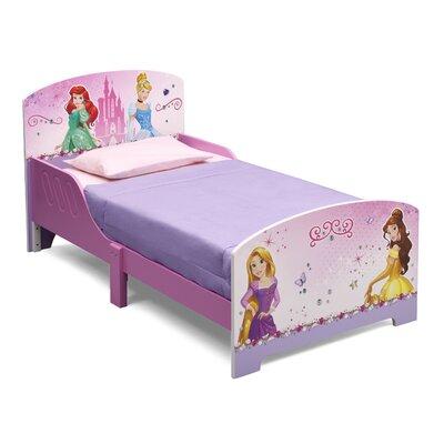 Delta Children Holzbett Prinzessin mit 2 Geländern