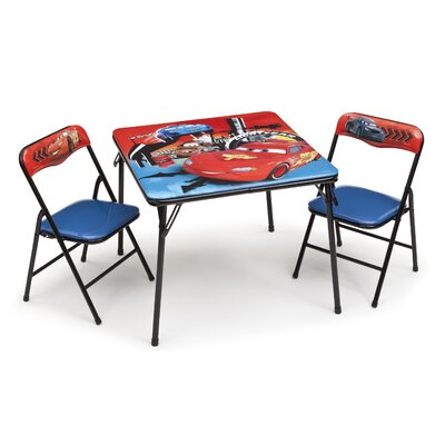Delta Children 3-tlg. Kinder-Tisch Set Disney Cars