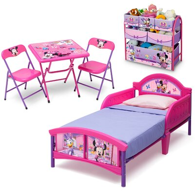 Delta Children 5-tlg. Kinderzimmer-Set Minnie Maus