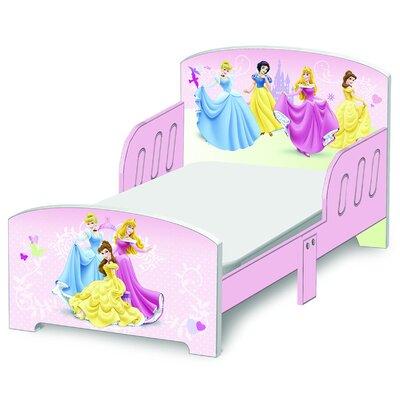 Delta Children Bett Prinzessin mit 2 Geländern