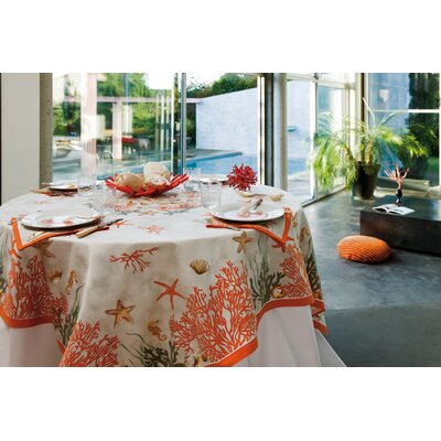 Beauville Corail Tablecloth