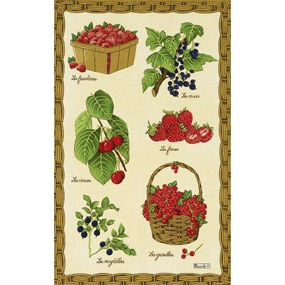 Beauville Fruits Rouges Tea Towel