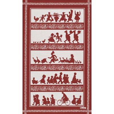 Beauville Silhouettes Tea Towel