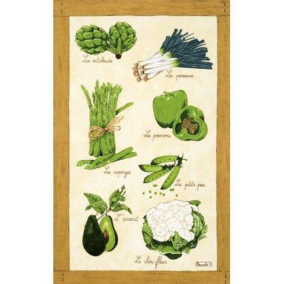 Beauville Legumes Verts Tea Towel