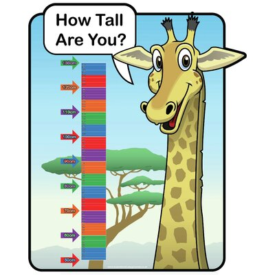 Inspirational Playgrounds How Tall Are You? Giraffe Growth Chart
