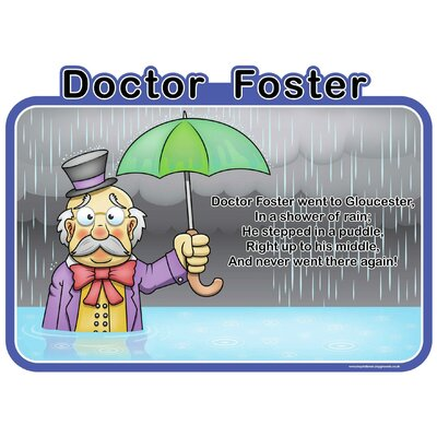 Inspirational Playgrounds Doctor Foster Wall Plaque