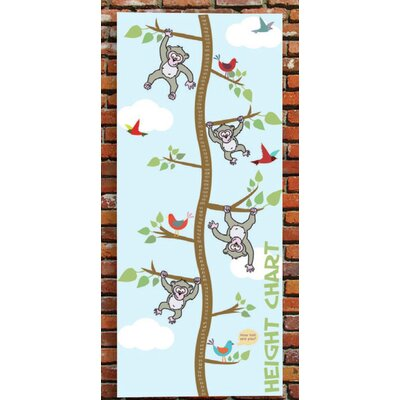 Inspirational Playgrounds How Tall Are You? Monkeys Growth Chart