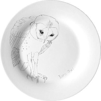 Ellipopp Barn Owl 27.2cm Dinner Plate