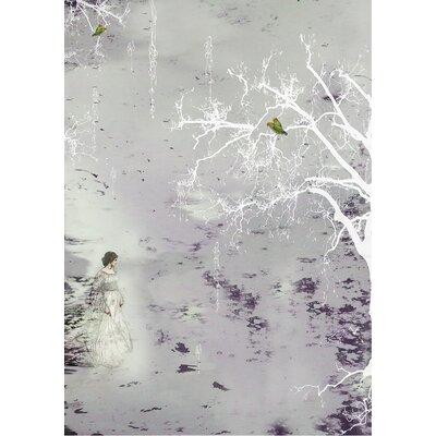 Ellipopp Aurora Borealis 2.8m L x 208cm W Roll Wallpaper