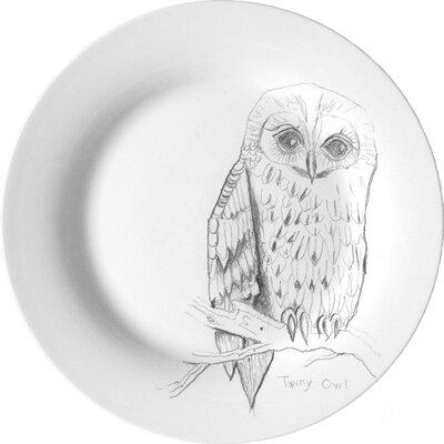 Ellipopp Tawny Owl 27.2cm Dinner Plate