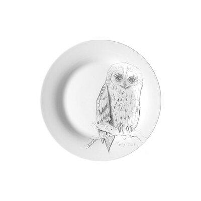 Ellipopp Tawny Owl 20cm Side Plate