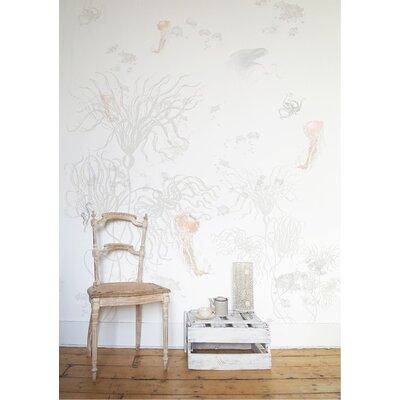 Ellipopp Anemone 2.8m L x 208cm W Roll Wallpaper
