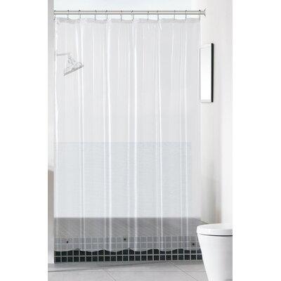 Mildew-Free Peva 6 Gauge Heavy Weight Shower Liner