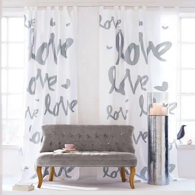 PureDay Vorhang Love