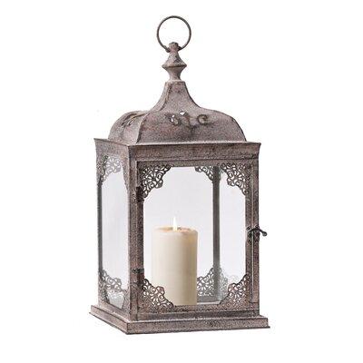 PureDay Laterne Maharani aus Eisen und Glas