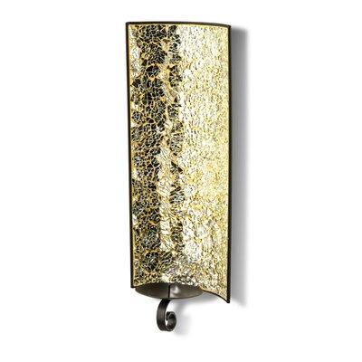 PureDay Wandkerzenhalter Mosaik aus Metall