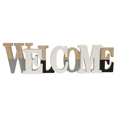 PureDay Deko-Schriftzug Welcome