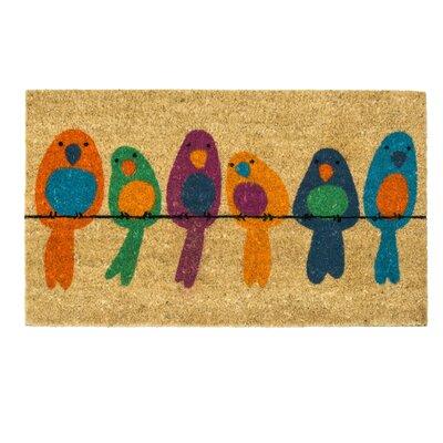 PureDay Fußmatte Vögel